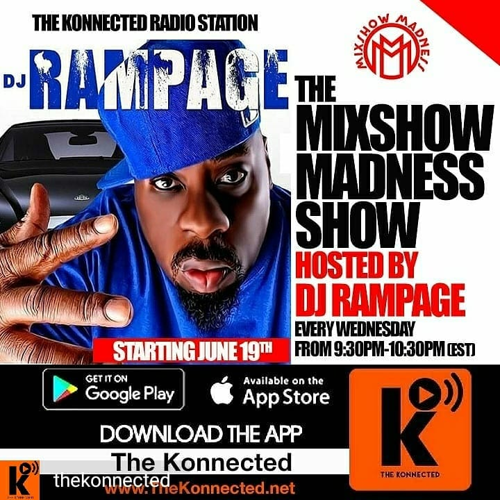 DJ RAMPAGE THE MIXSHOW MADNESS SHOW