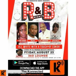 R&B Nights All White Edition @ 360 Lounge