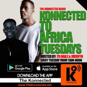Konnected To AFRICA Tuesdays