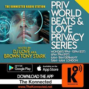 PRIV World Beats & Love Privacy Series